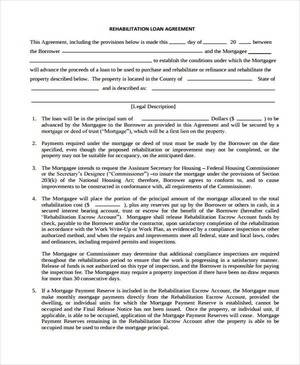 40 Printable Loan Agreement Forms - release of mortgage form