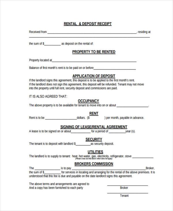 Payment receipt form nfgaccountability – Down Payment Receipt Template