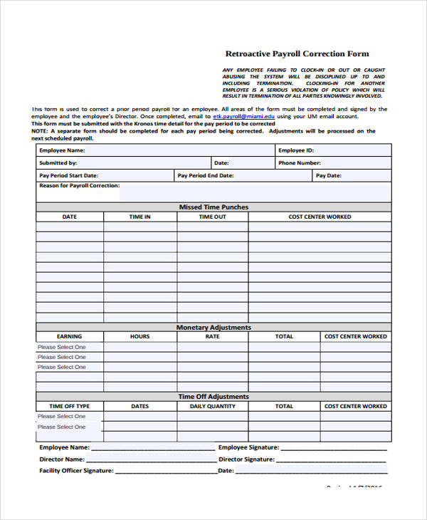 Certified Payroll Form Blank - certified payroll form