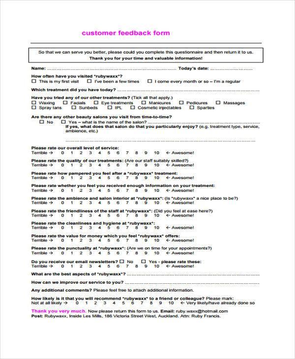 Free Feedback Form  NodeCvresumePaasproviderCom