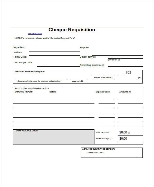 Purchase Request Form Template Excel