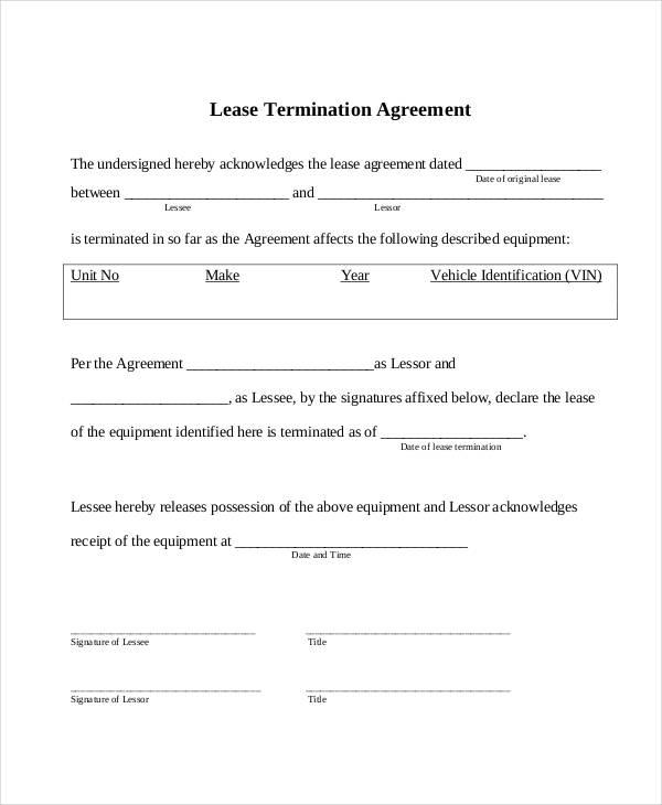 Simple Lease Agreements Free Printable Simple Lease Agreement_3 - free simple lease agreement template