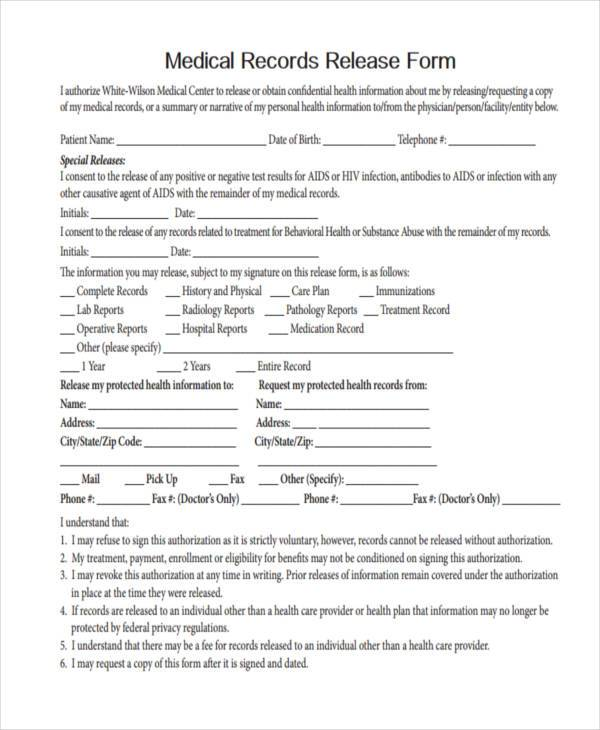100+ Template To Request Medical Records Authorization Letter - medical records release forms