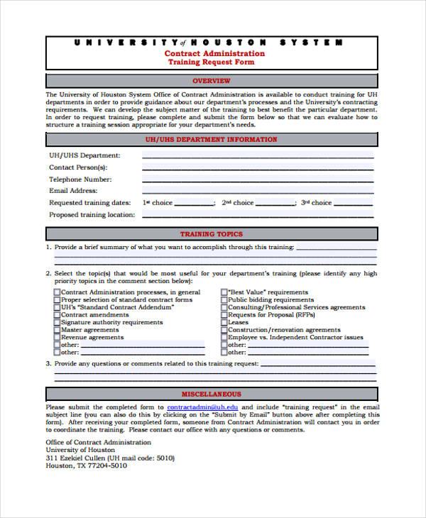 Training Request Form  EnvResumeCloudInterhostsolutionsBe