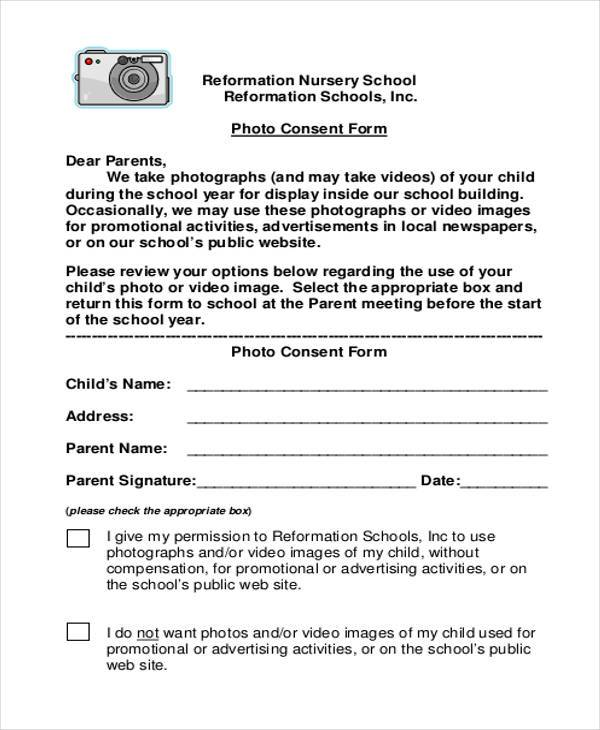 44+ Consent Form Samples- Free Sample, Example Format Download - photography consent form