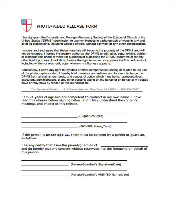 university of michigan record photo release form photovideo - legal release form template