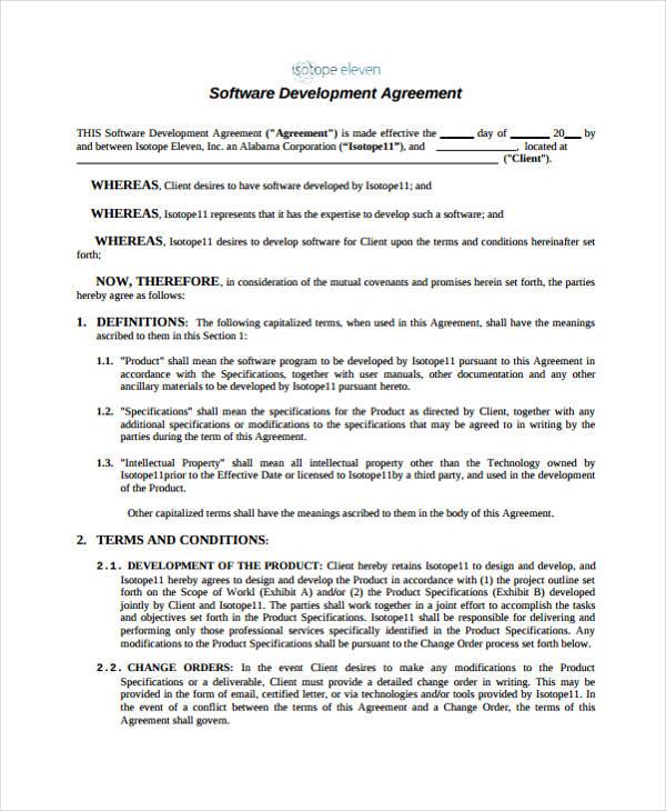 Development Agreement Elegant 55 Lovely Sample Consultant ...