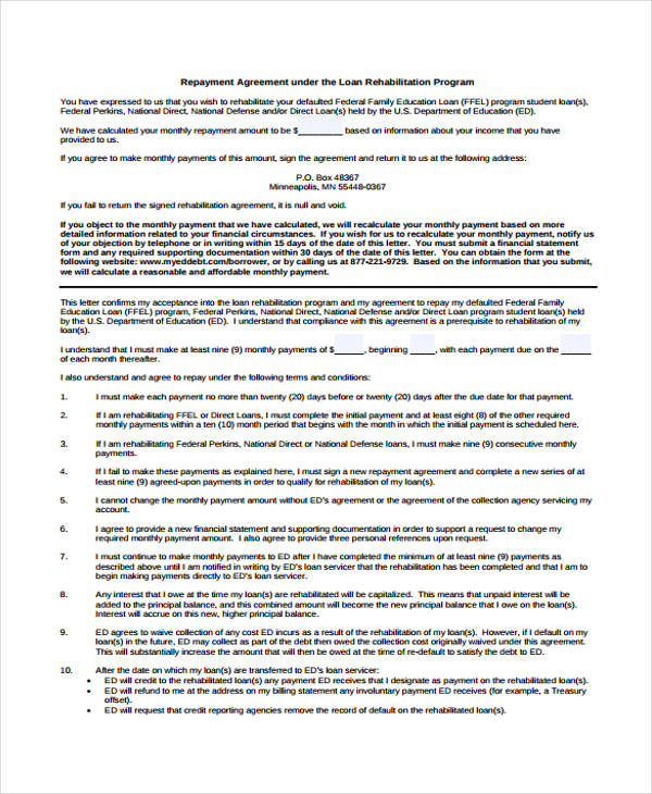 Loan Agreement Form Example - 65+ Free Documents in Word, PDF - loan payment agreement template
