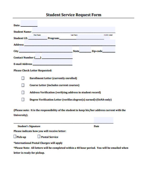 Sample Request Forms Sample Request Forms Free Documents In Pdf - sample time off request form