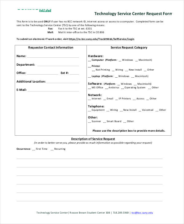 35+ Service Order Forms in PDF
