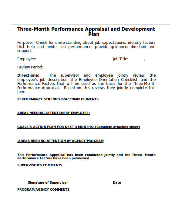employee evaluation form template efficiencyexperts - sample employee evaluation form