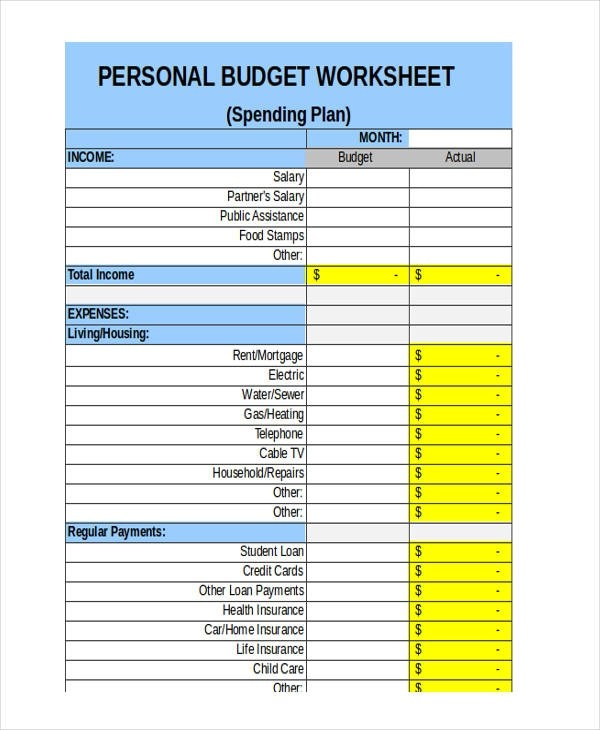 sample weekly budget   hitecauto.us