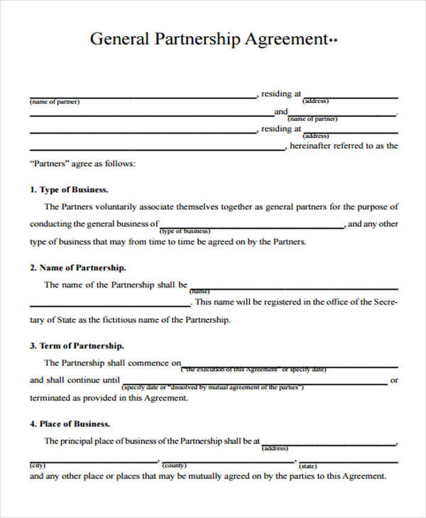 25 Sample Business Agreement Forms - sample business agreements
