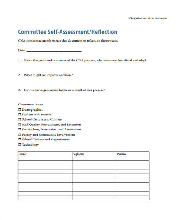 Organizational Needs Assessment Template sample needs analysis - needs assessment templates