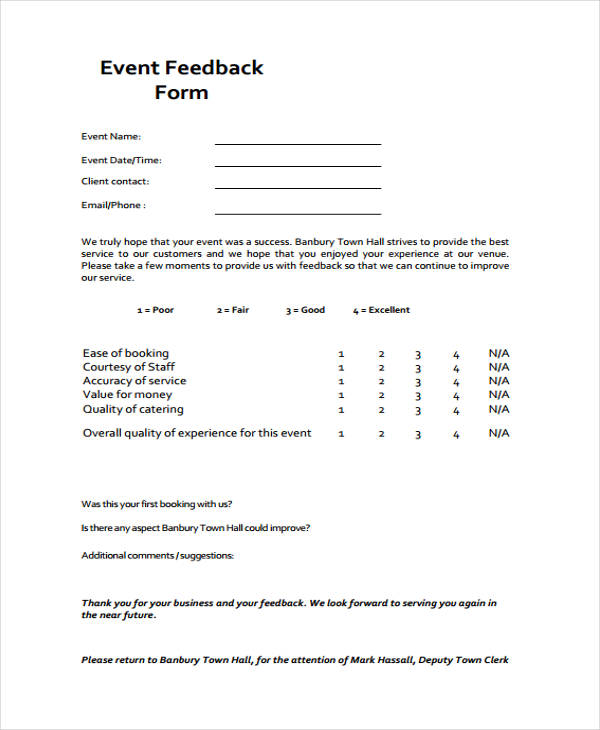 Client Evaluation Form Template Image collections - Template Design