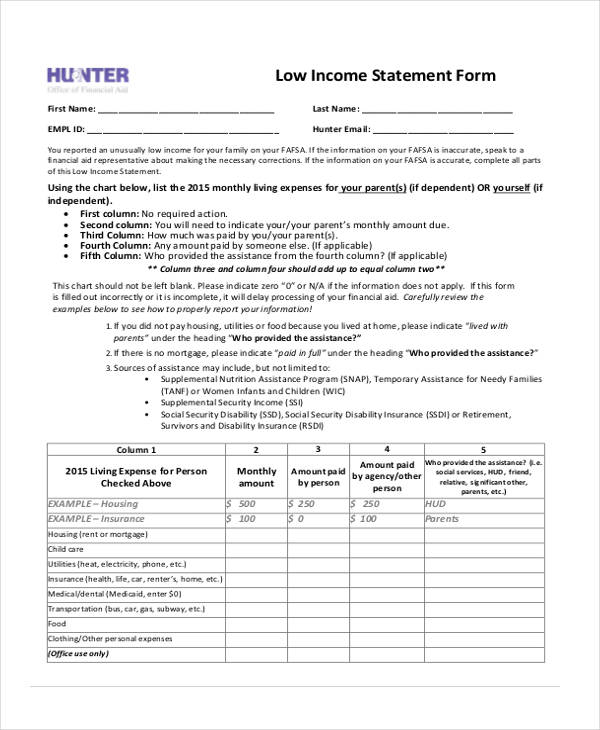 zero income statement form - Deanroutechoice