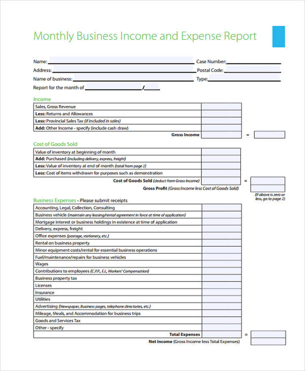 business expense report - Sogol - expense report