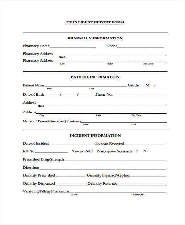 fall incident report - Goalgoodwinmetals - incident report forms