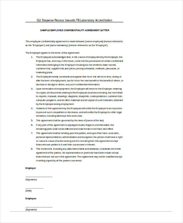 19+ Free Confidentiality Agreement Forms - Free Documents in Word, PDF - standard confidentiality agreement