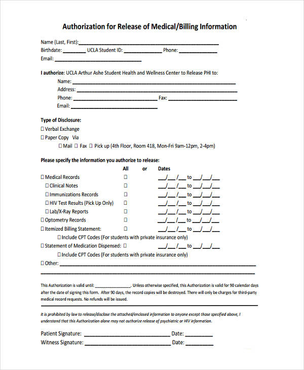 general release form template datariouruguay - insurance release form