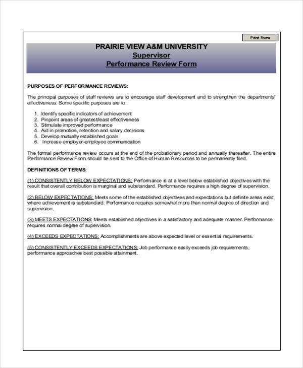 purpose employee evaluation lovinglyy - employee review form