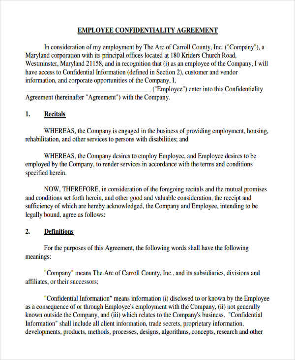 Confidentiality Clause Contract madebyrichard - vendor confidentiality agreement