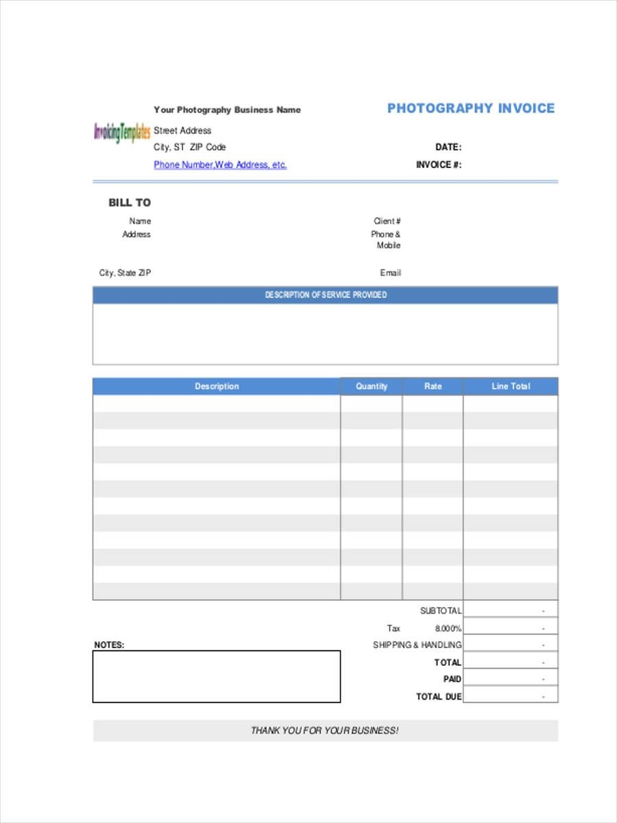 free download invoice forms