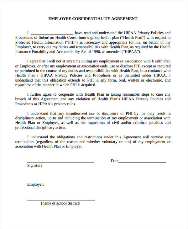 19+ Confidentiality Agreement Form - Free Documents in Word, PDF