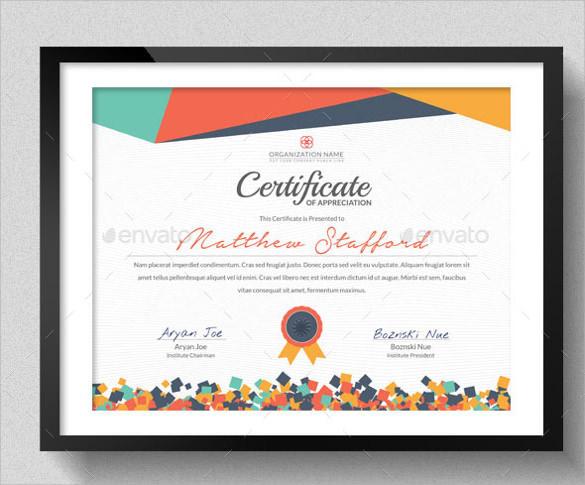 31+ Best School Certificate Templates Sample Templates - school certificate templates