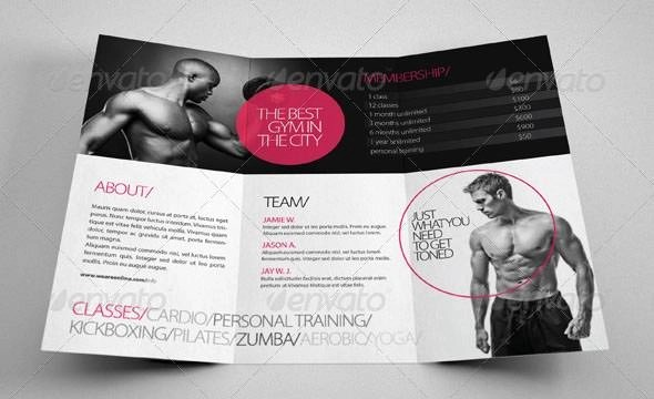20 Best Gym Brochure Templates Sample Templates