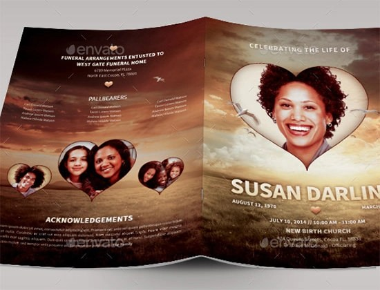 33+ Sample Funeral Programs Templates Sample Templates - funeral poster templates