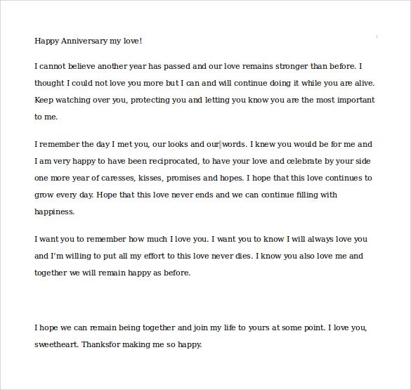 15+ Samples of Love Letters to Boyfriend \u2013 PDF, WORD Sample Templates - love letter to boyfriend
