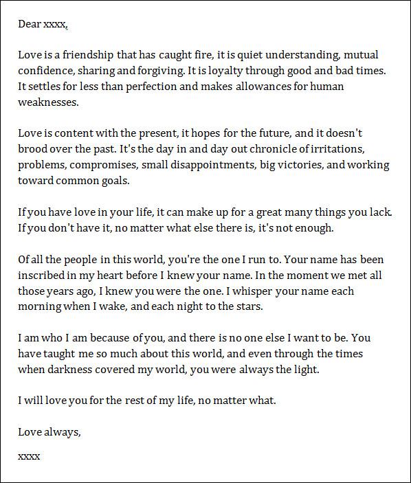 Love Letter To Boyfriend gplusnick