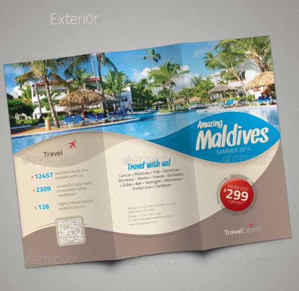 vacation brochure examples