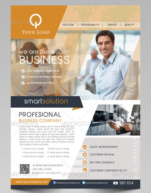 sample business flyers - Selol-ink - sample business flyers