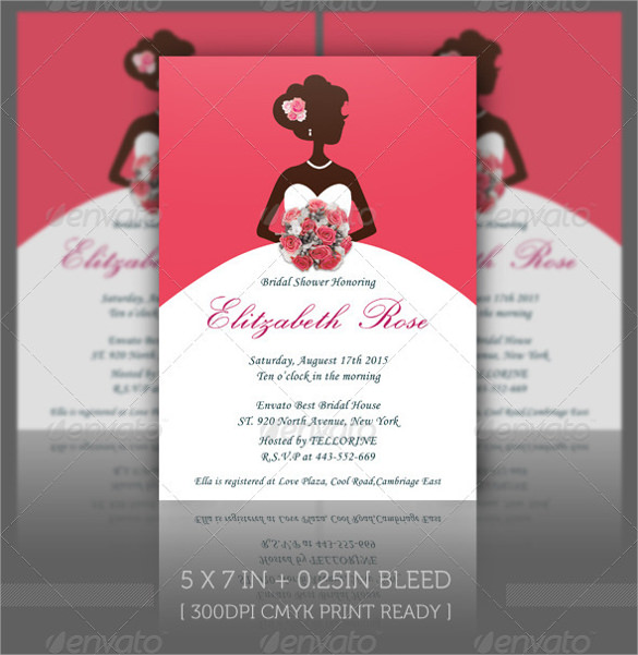 Printable Bridal Shower Invitations \u2013 gangcraftnet