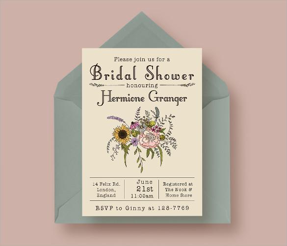 Bridal Shower Invitation Template u2013 gangcraftnet - bridal shower invitation samples