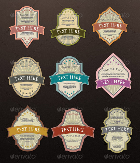12 Awesome Printable Label Templates Sample Templates - Microsoft Word Templates Labels