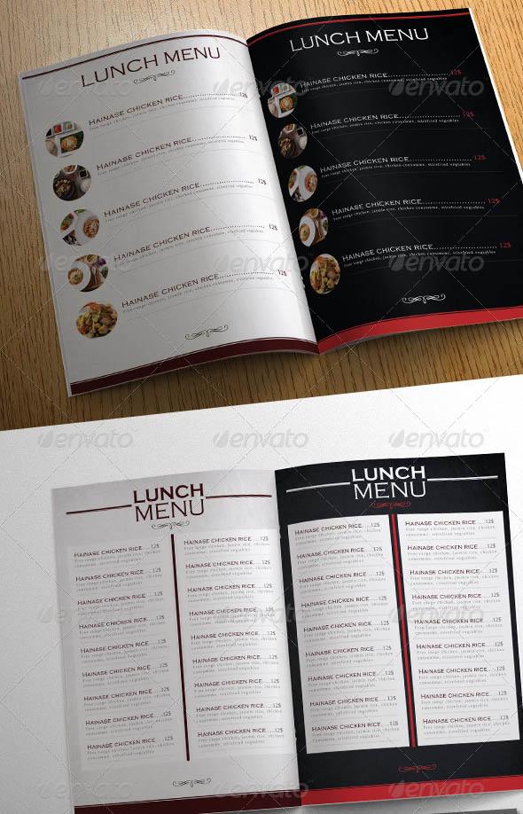 18+ Restaurant Menu Design Templates