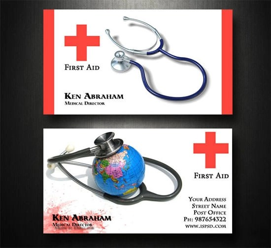 21+ Medical Business Card Templates - AI, Ms Word, Photoshop