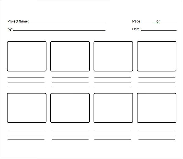 Storyboard Samples - vertical storyboard
