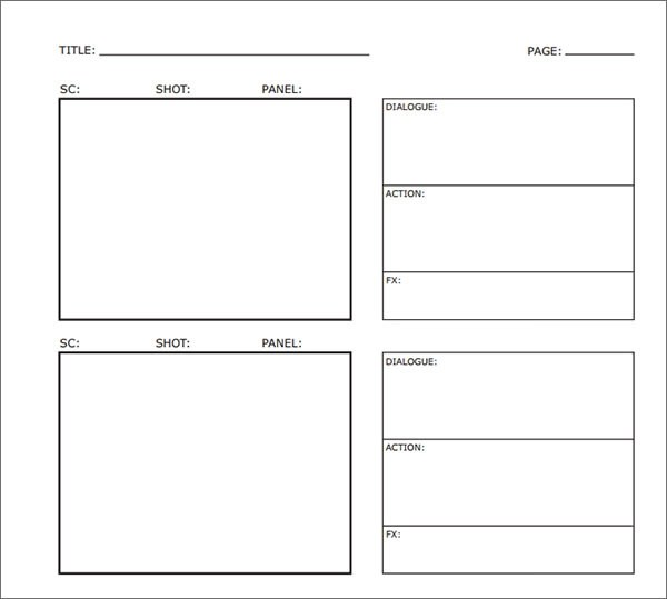 33+ Free Storyboard Samples \u2013 PDF, DOC Sample Templates