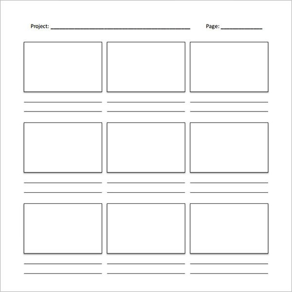Sample Free Storyboard - 33+ Documents Download in PDF, Word, PPT - free storyboard templates