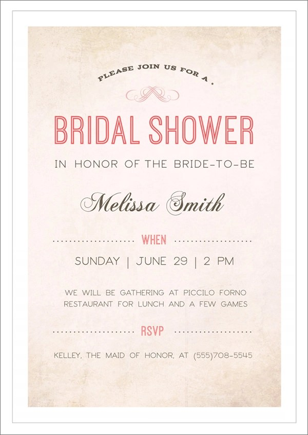 Free Bridal Shower Invitation Templates For Word \u2013 orderecigsjuiceinfo - bridal shower invitation templates for word