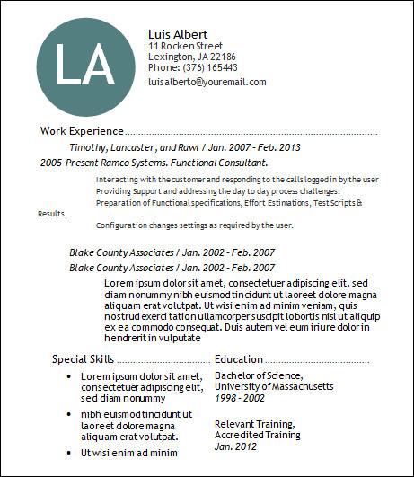 Sample Basic Resume - 21+ Documents in Word