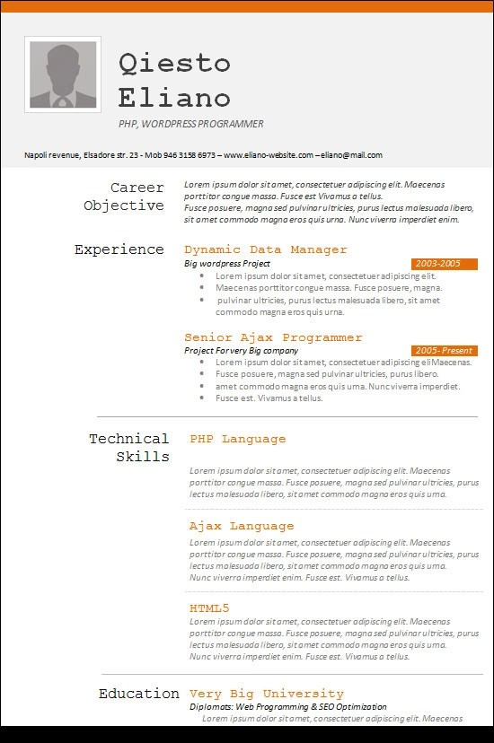 Technical programmer resume - SAFETY-FOCUSEDTK - programmer resume