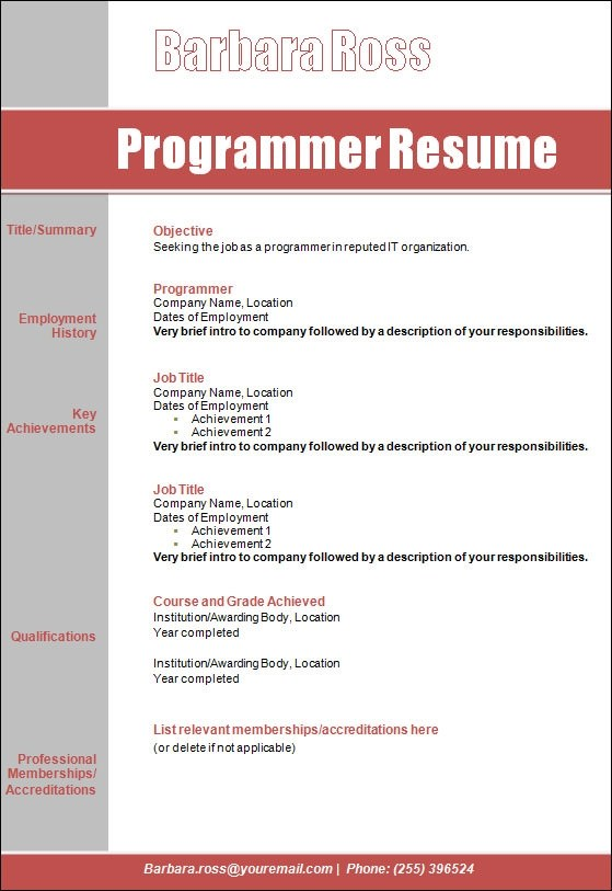 rpg programmer sample resume node2002-cvresumepaasprovider
