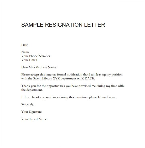 Laramie County School District 1 School Nutrition And Sample Resignation Letter From Teaching Position Lawteched
