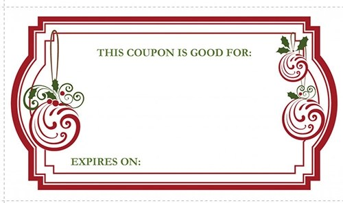 christmas coupon template word - Goalgoodwinmetals
