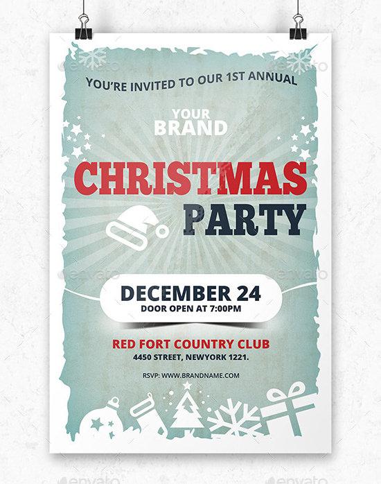 22+ Printable Christmas Invitation Templates - PSD, Vector EPS